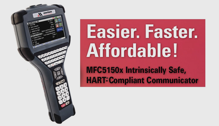 ATEX APPROVED MERIAM HART COMMUNICATORS