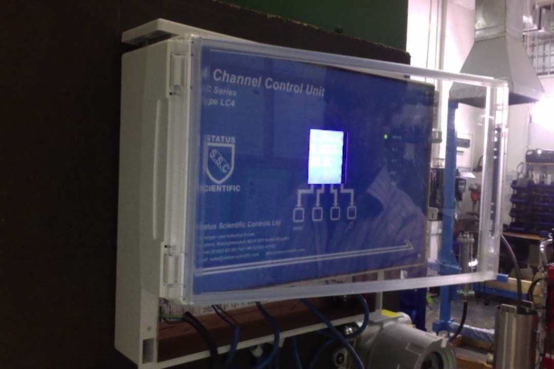 Multi Channel Gas Detector Control Unit