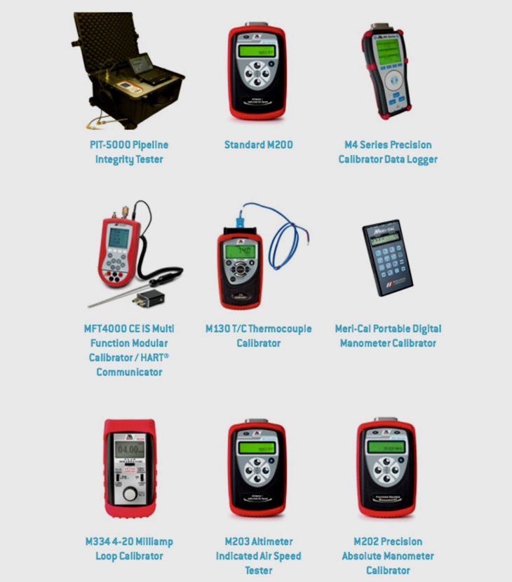 HAND HELD CALIBRATORS /DIGITAL MANOMETERS